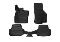 Rubber mats for VW Golf VII 2013- 4-piece excl. E-Golf