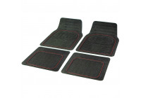 Rubber car mat set