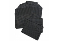 Rubber mats set, 4 pieces