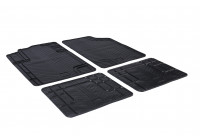 Rubber mats Universal T-MultiForm (T profile 4-piece)