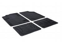 Rubber mats Universal T-MultiForm (T profile 4-piece)