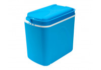 Cool box 24 litres blue / white