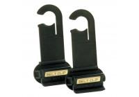 Belt clip set 2 pieces belt clipper