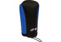 Simoni Racing Gear knob cover - Black / Blue + SR Logo