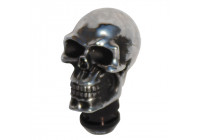 Simoni Racing Gear Knob Skull - Chrome + Black Eyes