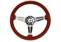 Simoni Racing Sport Steering Wheel Dijon 330mm - Real Wood