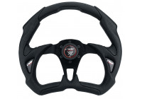 Simoni Racing Sport Steering Wheel X5 Poly Pelle 350mm - Black