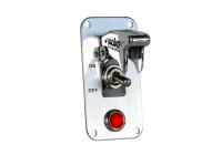 Simoni Racing SwitchPanel - Aluminum + Chrome Switch