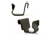 Metal door clip 10mm (hook model)