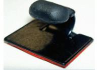 Plastic clip self-adhesive large