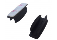 Plastik self-adhesive clip lying