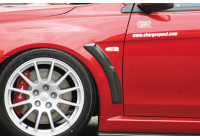 Chargespeed fender luftintag Mitsubishi Lancer Evo X CZ4A (FRP)