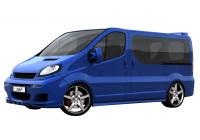 Dietrich Sidokjolar Opel Vivaro / Renault Trafic / Nissan Primastar - kort hjulbas
