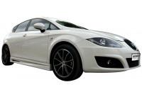 Sidokjolar Seat Leon 1P Facelift 2009-2012 (ABS)