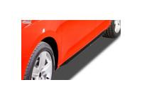 Sidokjolar 'Slim' Audi A4 B8 Sedan / Avant 2008-2015 (ABS svart blank)