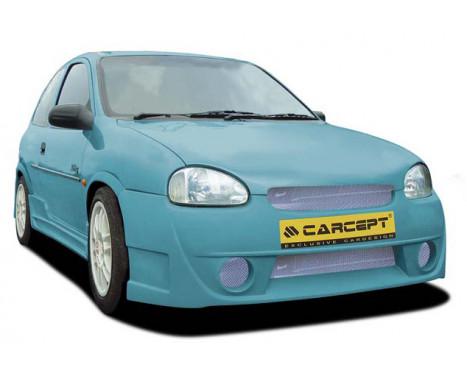 Carcept Stötfångare Opel Corsa B 1993-2000 Basic II, bild 2