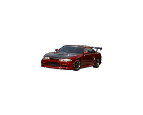 Charge hastighet Främre stötfångare Nissan S14 1st Series (FRP)