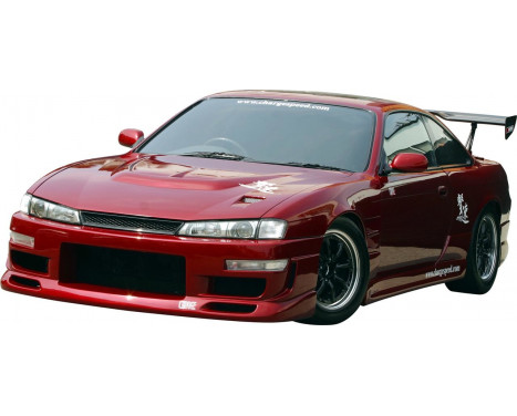 Charge hastighet Främre stötfångare Nissan S14 2nd serien (FRP)