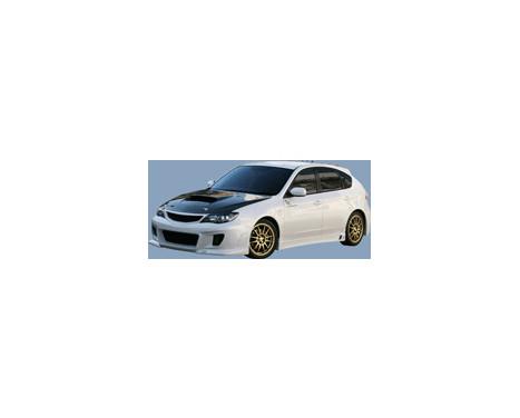 Charge hastighet Främre stötfångare Subaru Impreza GH2 / 3/6/7/8 9 / 2007- typ 1 (FRP) + Grill, bild 3