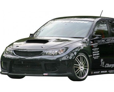 Charge hastighet Främre stötfångare Subaru Impreza WRX STi 2008- typ 1 (FRP) + Grill