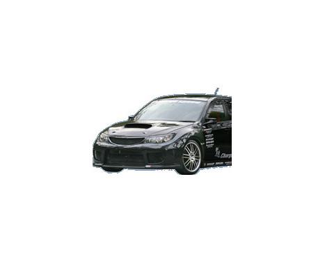 Charge hastighet Främre stötfångare Subaru Impreza WRX STi 2008- typ 1 (FRP) + Grill, bild 2