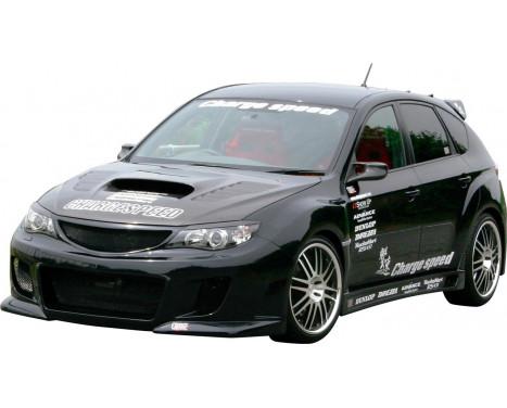 Charge hastighet Främre stötfångare Subaru Impreza WRX STi typ 2 2008- (FRP) + Grill
