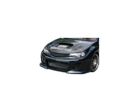 Charge hastighet Främre stötfångare Subaru Impreza WRX STi typ 2 2008- (FRP) + Grill, bild 2