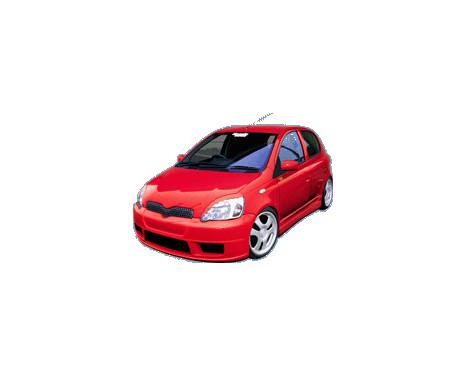 Charge hastighet Främre stötfångare Toyota Yaris NCP10 2003-2006