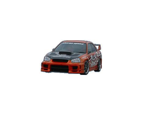 Chargespeed Stötfångare Subaru Impreza GD # (C / D / E) + Type2 rak flik