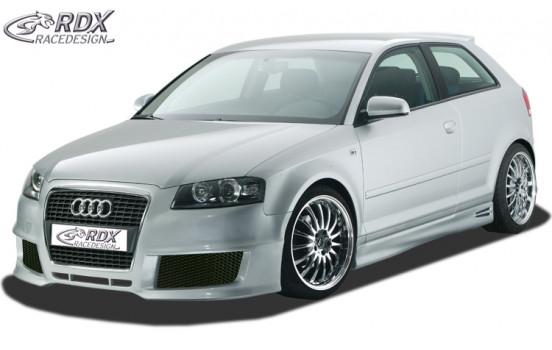 Främre stötfångare Audi A3 8P tre dörrar 2003-2005 Single Frame 2 (GFK)