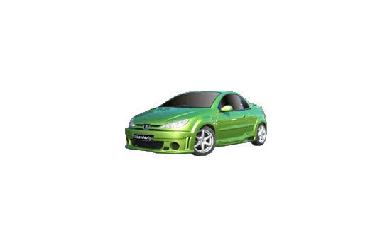 Ibherdesign Stötfångare Peugeot 206