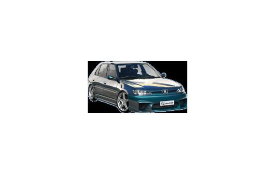 Ibherdesign Stötfångare Peugeot 306 1997- fas II Spänning