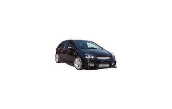 TSS Tuning Främre stötfångare Honda Civic HB 3/5 dörr 2001-