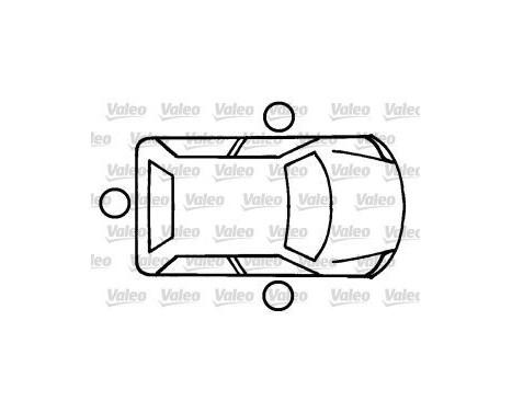 Låscylinder, tändningslås, bild 2
