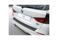 ABS Bakspoiler skydd lista BMW X1 2009- Svart