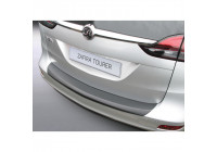 ABS Bakspoiler skydd lista Opel Zafira Tourer 2012- Svart