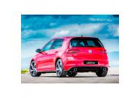 Bakre stötfångare kjol Volkswagen Golf VII 3/5-dörr Facelift 2017+ GTI look