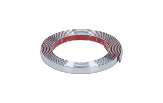 Chrome trim 5 meter x 21 mm
