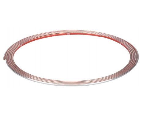 Chrome trim Flat 3,5 mm x 3.65mtr 3M Tape