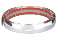 Chrome trim Flat 35mm x 2.45mtr 3M Tape