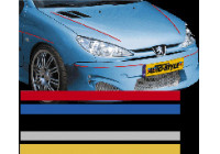 Universal lim striping Car Stripe Cool200 - Röd - 3 mm x 975cm