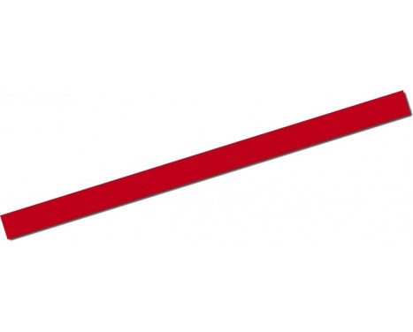 Universal lim striping Car Stripe Cool200 - Röd - 6,5 mm x 975cm