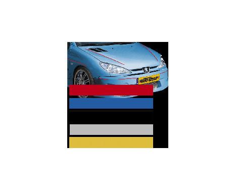 Universal lim striping Car Stripe Cool200 - Silver - 6,5 mm x 975cm, bild 2