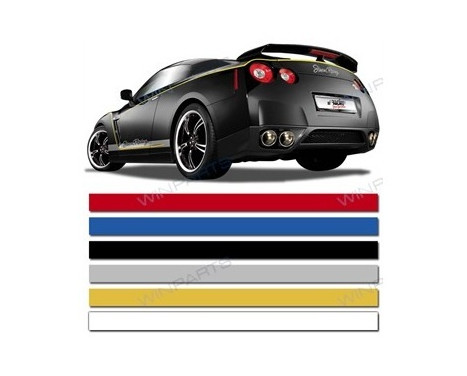 Universal lim striping Car Stripe Cool200 - Vit - 3 mm x 975 cm, bild 2