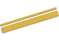 Universal lim striping Car Stripe Cool350 - Guld - 2 + 3 mm x 975cm