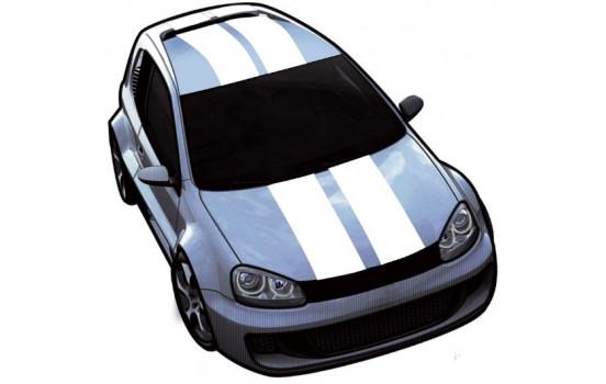 Viper Stripes vit - sätta en 2 stycken - längd 500 cm / bredd 10 cm