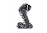 Bil dekal klistermärke Aluminum Cobra - 4,2x6,5cm
