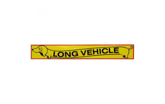 Bil dekal klistermärke Long Vehicle - 10,5x67,5cm