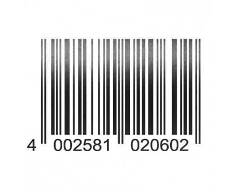 Foliatec Cardesign klistermärke - Code - svart matta - 37x24cm