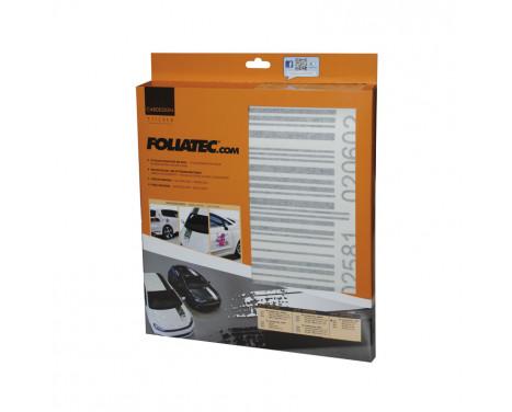 Foliatec Cardesign klistermärke - Code - svart matta - 37x24cm, bild 2